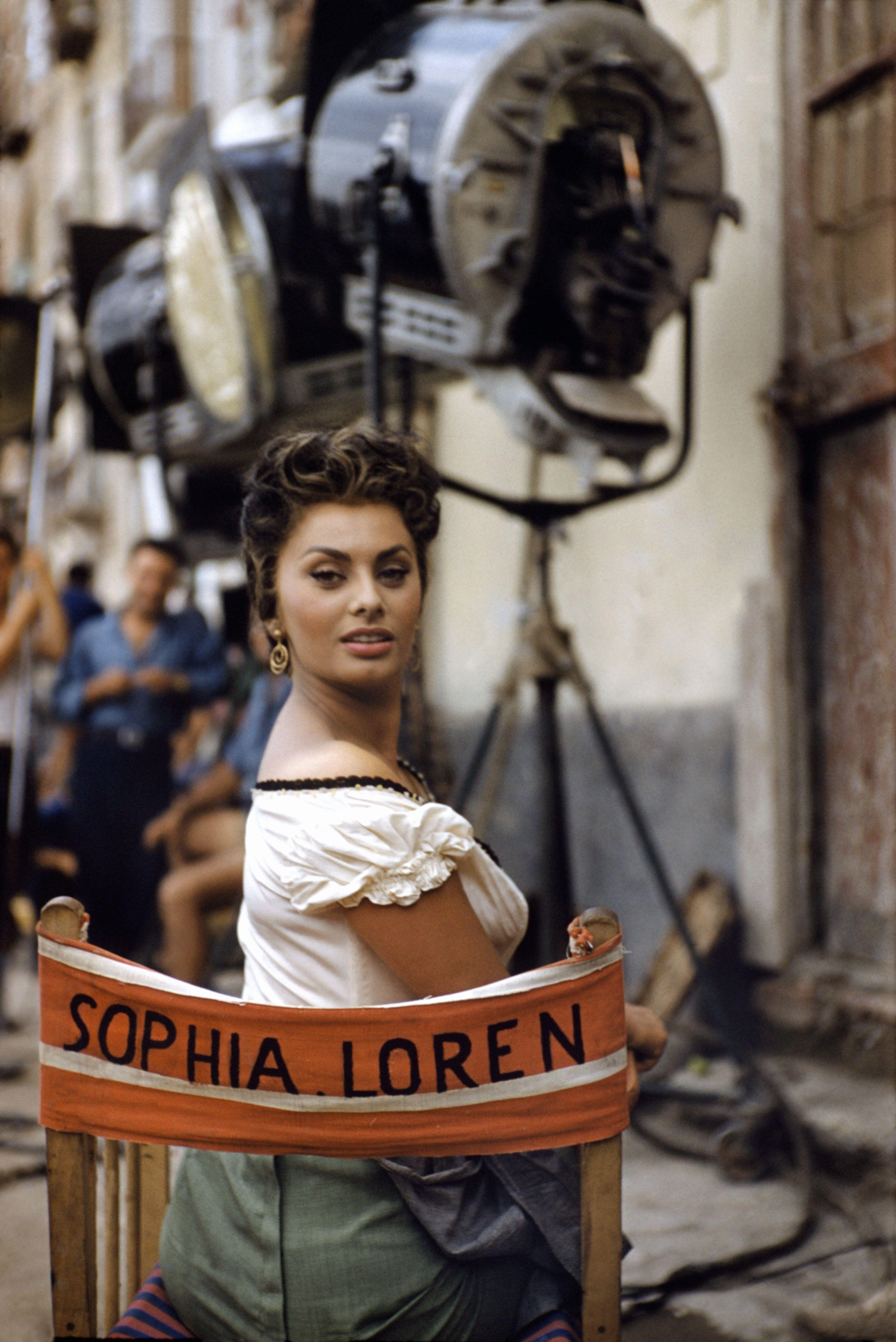 David Seymour Magnum Photos In 2020 Sophia Loren Magnum Photos Photo