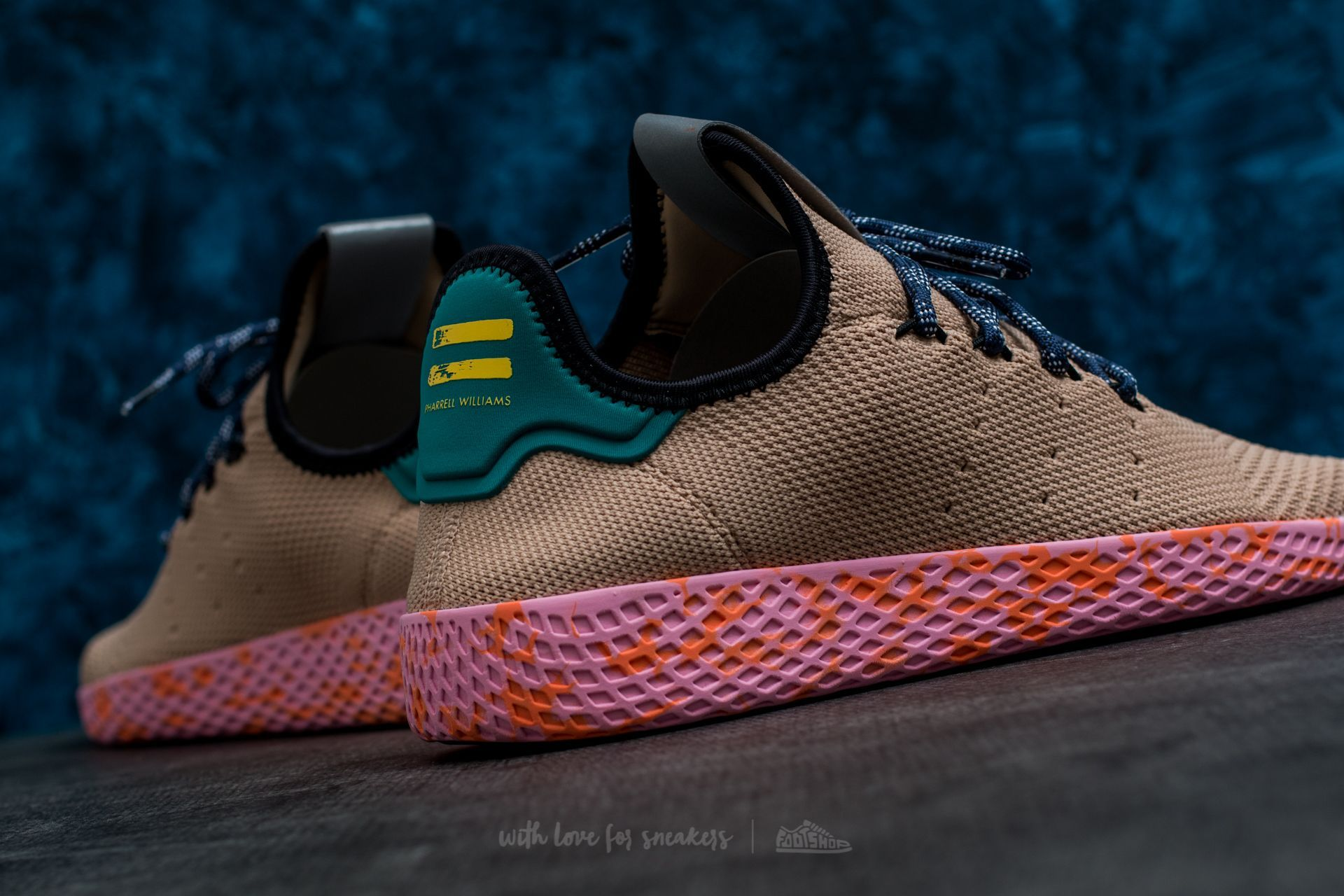 9d3b0bdeda1de8 adidas Pharrell Williams Tennis HU Tan  Tan at a great price 108 € buy at  Footshop