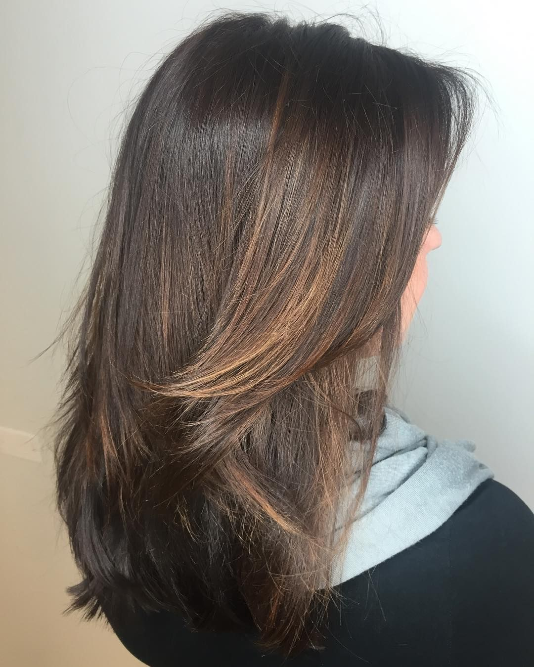 modern hairdos with caramel highlights u the tasty trend colors