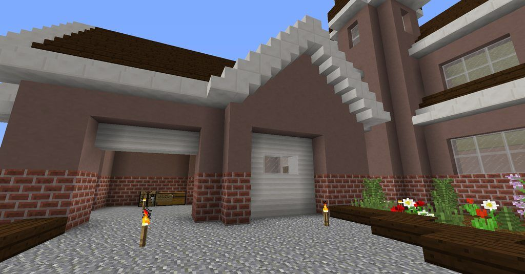 Detail] Use sideways quartz pillars to create more realistic garages on minecraft small house, sims 3 house blueprints, minecraft house plans, minecraft tree house, minecraft fancy house, beach house blueprints, minecraft farm house, best minecraft house blueprints, minecraft beach house, minecraft house templates, nice house blueprints, minecraft npc village house, minecraft underwater house, minecraft pocket edition house blueprints, minecraft mansion, cheap minecraft house blueprints, minecraft white house blueprints, minecraft house styles, minecraft house schematics, minecraft house design i,