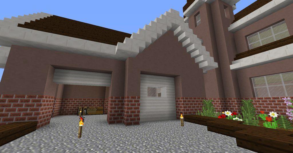Minecraft Quartz House