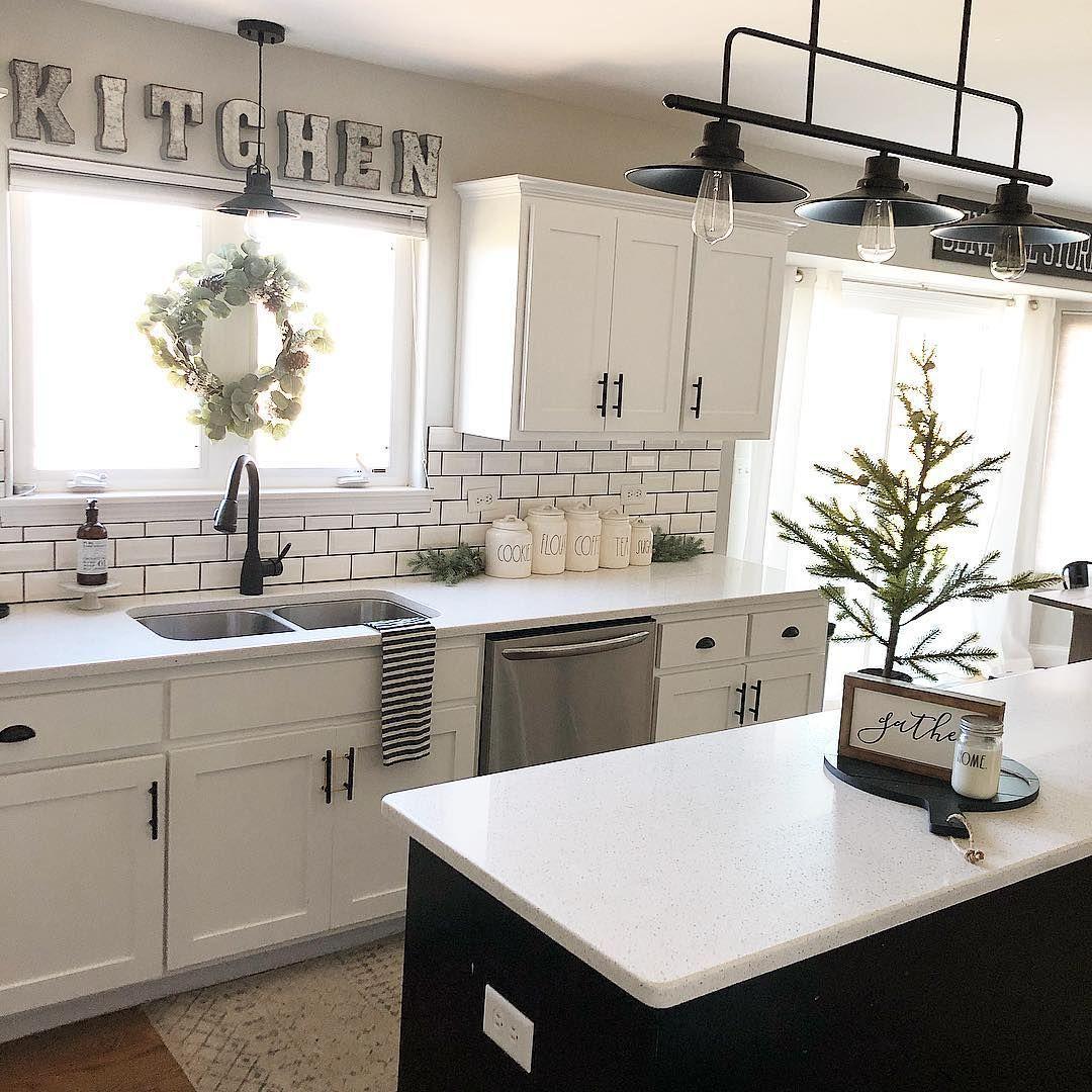 Quotations In 2020 White Kitchen Decor Home Decor Kitchen Home Kitchens