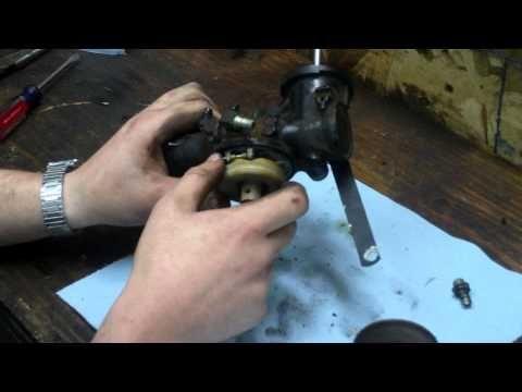 How To Clean Rebuild Briggs And Stratton One Piece Flo Jet Carburetor