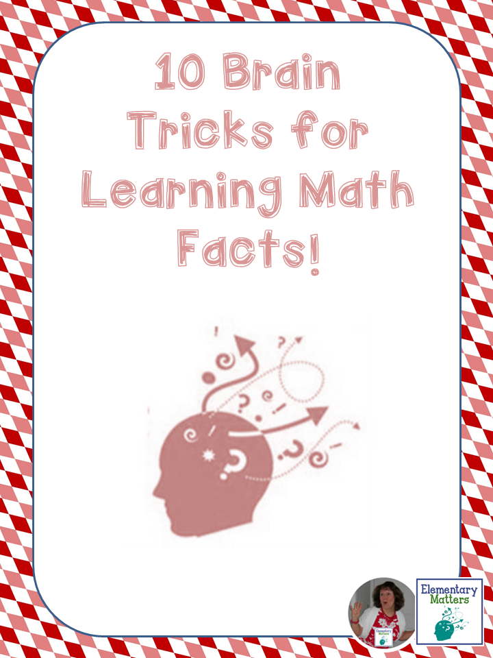 Ten Brain Tricks for Learning Math Facts | Brain tricks, Learn math ...