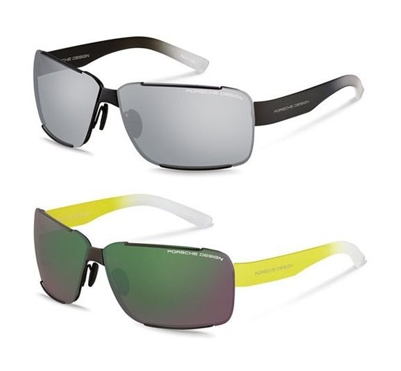 5fa3fe3322881 Óculos · Porsche Design P8580 sunglasses are made with the finest  materials. With the flattering mix of