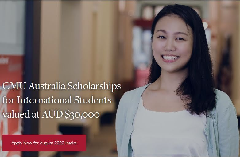 CMU Australia Scholarships for International Students 2020 ...