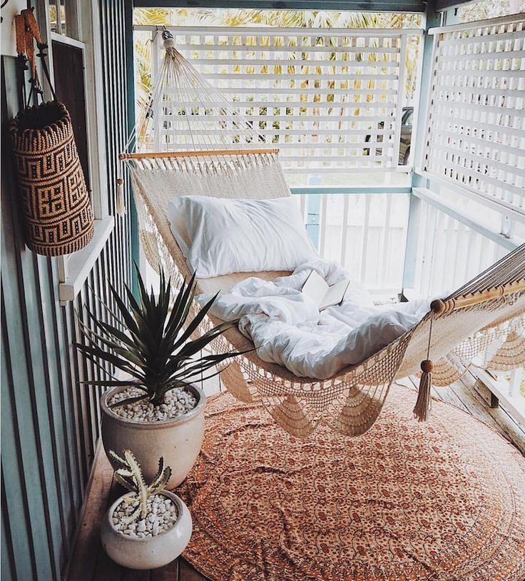 7 Boho Ideas for Outdoor Spaces (Big and Small)! #designfürzuhause