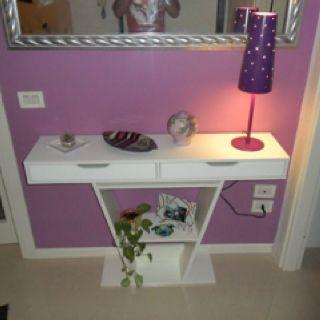 Vanity Using Ikea Ekby Alex Ekby Valter Shelf With Drawer