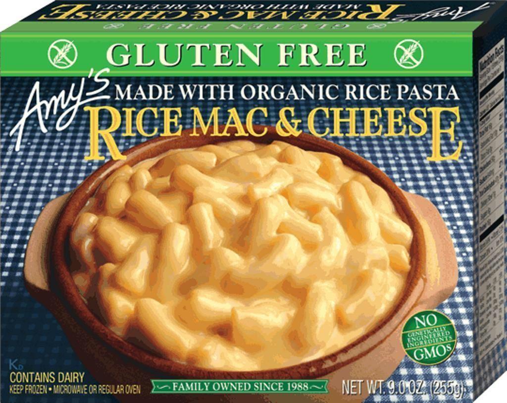 Amy S Gluten Free Rice Pasta Rice Mac Cheese 9 Oz Dairy Free Mac And Cheese Dairy Free Gluten Free Rice