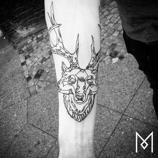 Dear tattoo idea