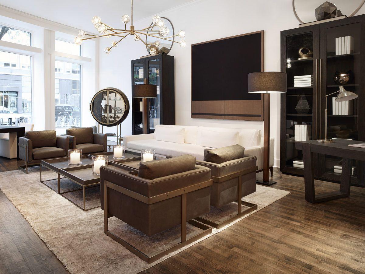 rh modern stores  living room light fixtures living room