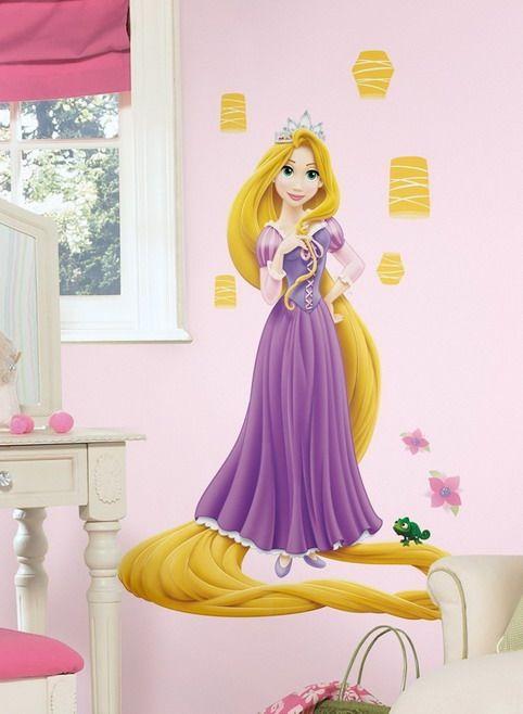 Princess Wall Murals For Kids Disney Decals Rapunzel Princesses