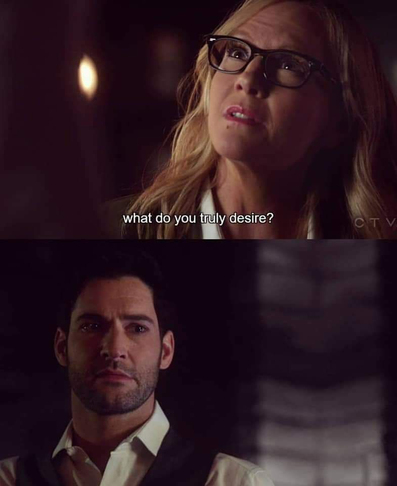 Lucifer Question: Yes Lucifer, That's The Fundamental Question!