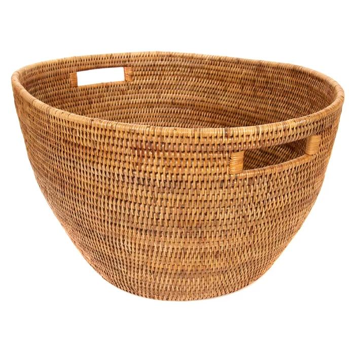 Kana Laundry Basket Woven Trays Basket Wicker Laundry Hamper