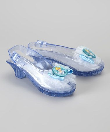 Take a look at this Cinderella Jelly Shoe by Disney Princesses Collection on #zulily today!