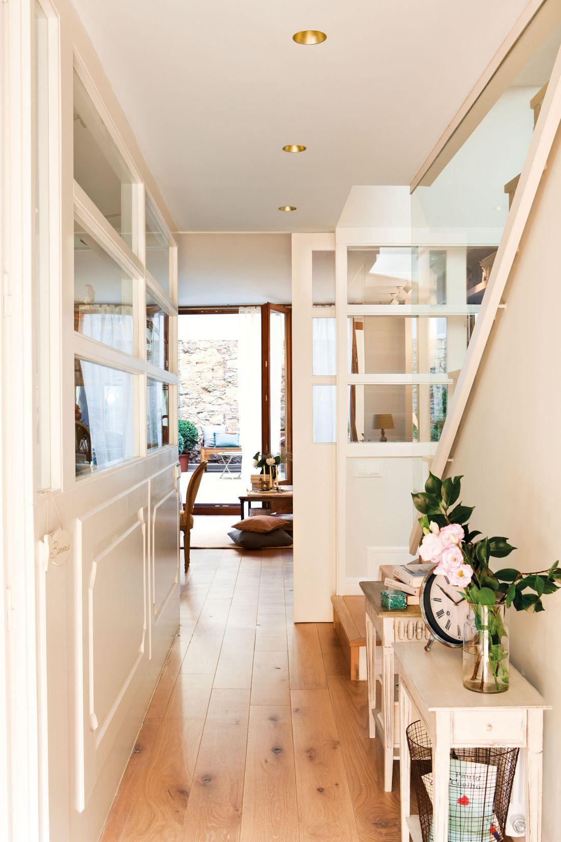 Ideas para decorar tu recibidor casas pinterest foyer entryway y living room - Ideas para recibidor ...