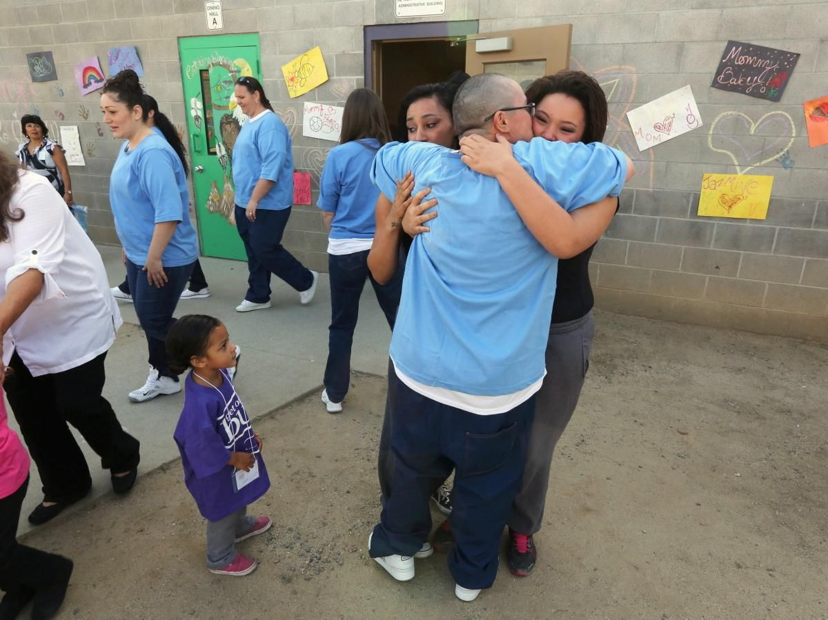 Children reunite with their mothers at Folsom Women's