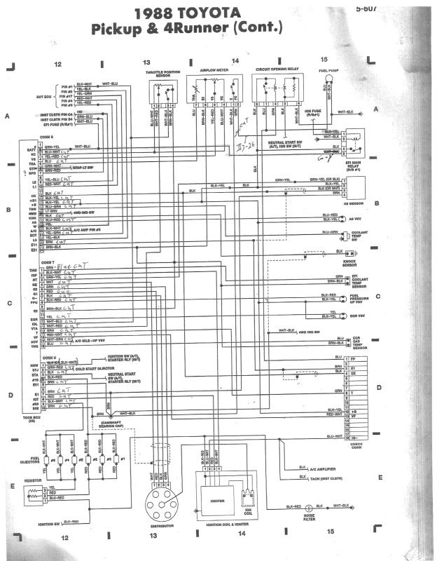 3vze Wiring Harness Diagram - Find Wiring Diagram •