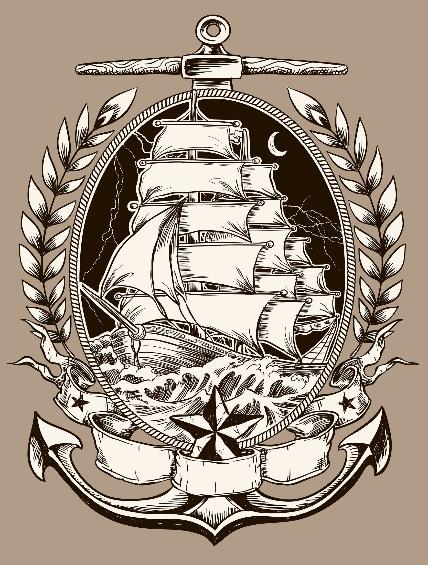 pirate ship bau pinterest tattoo tattoo meanings and sailor jerry. Black Bedroom Furniture Sets. Home Design Ideas