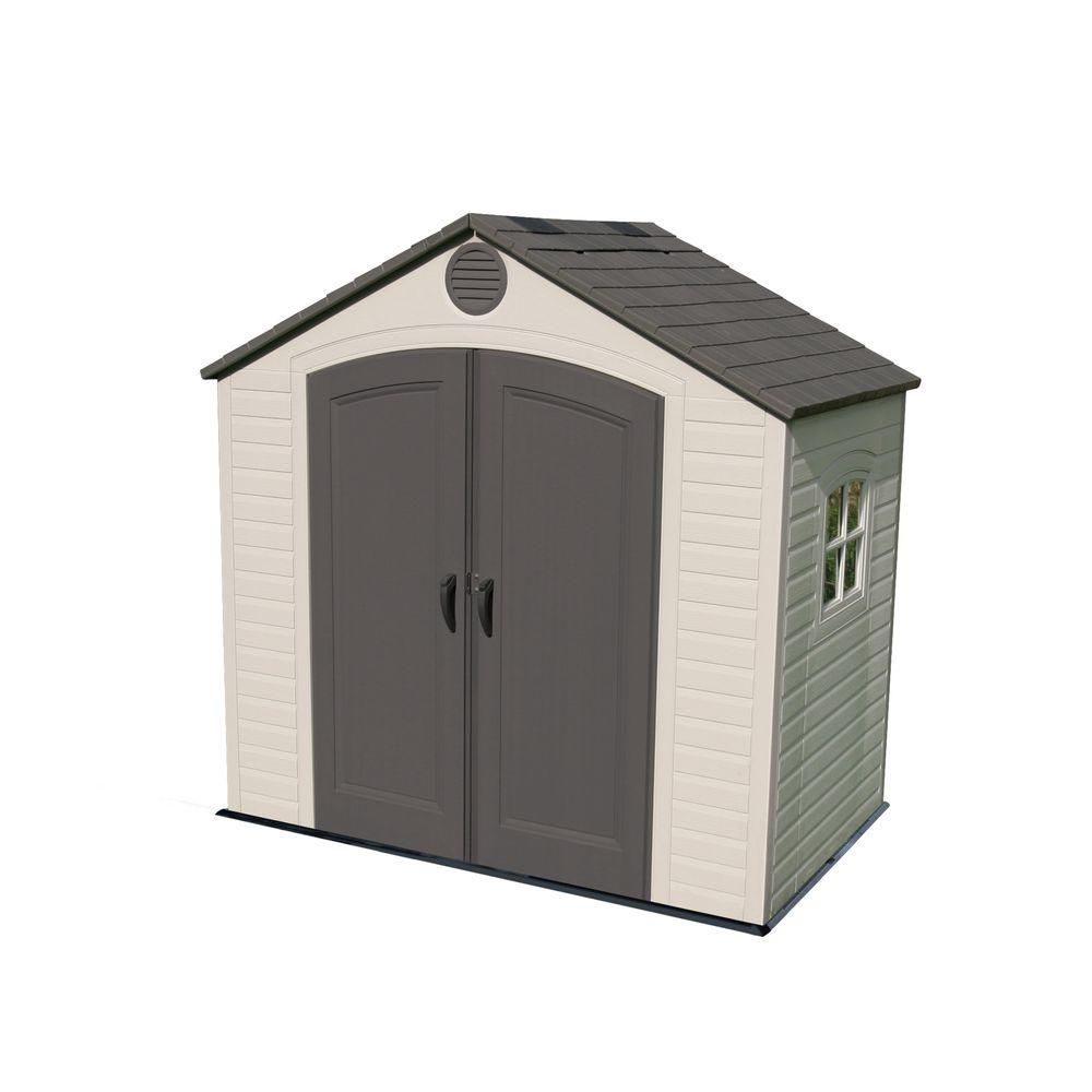 Lifetime 8 Ft X 5 Ft Outdoor Storage Shed 6406 With Images Outdoor Storage Sheds Lifetime Storage Sheds Plastic Storage Sheds