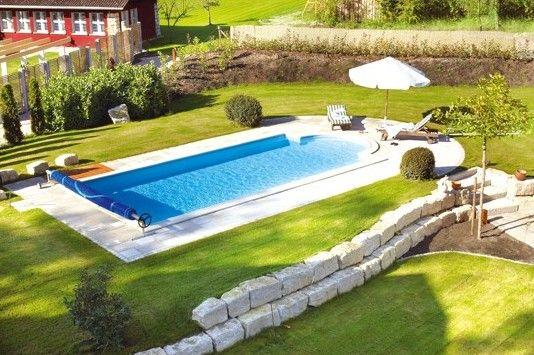 Bildergebnis für pool selber bauen beton Garten Pinterest