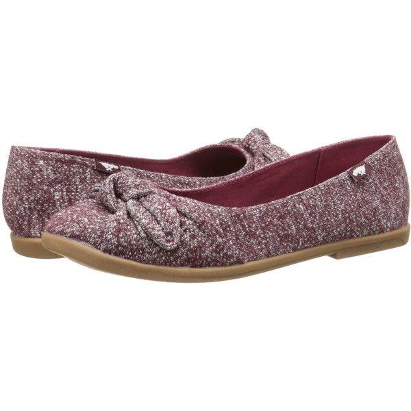 Rocket Dog Jiggy Burgundy Trails Women s Flat Shoes 2 000 RUB liked