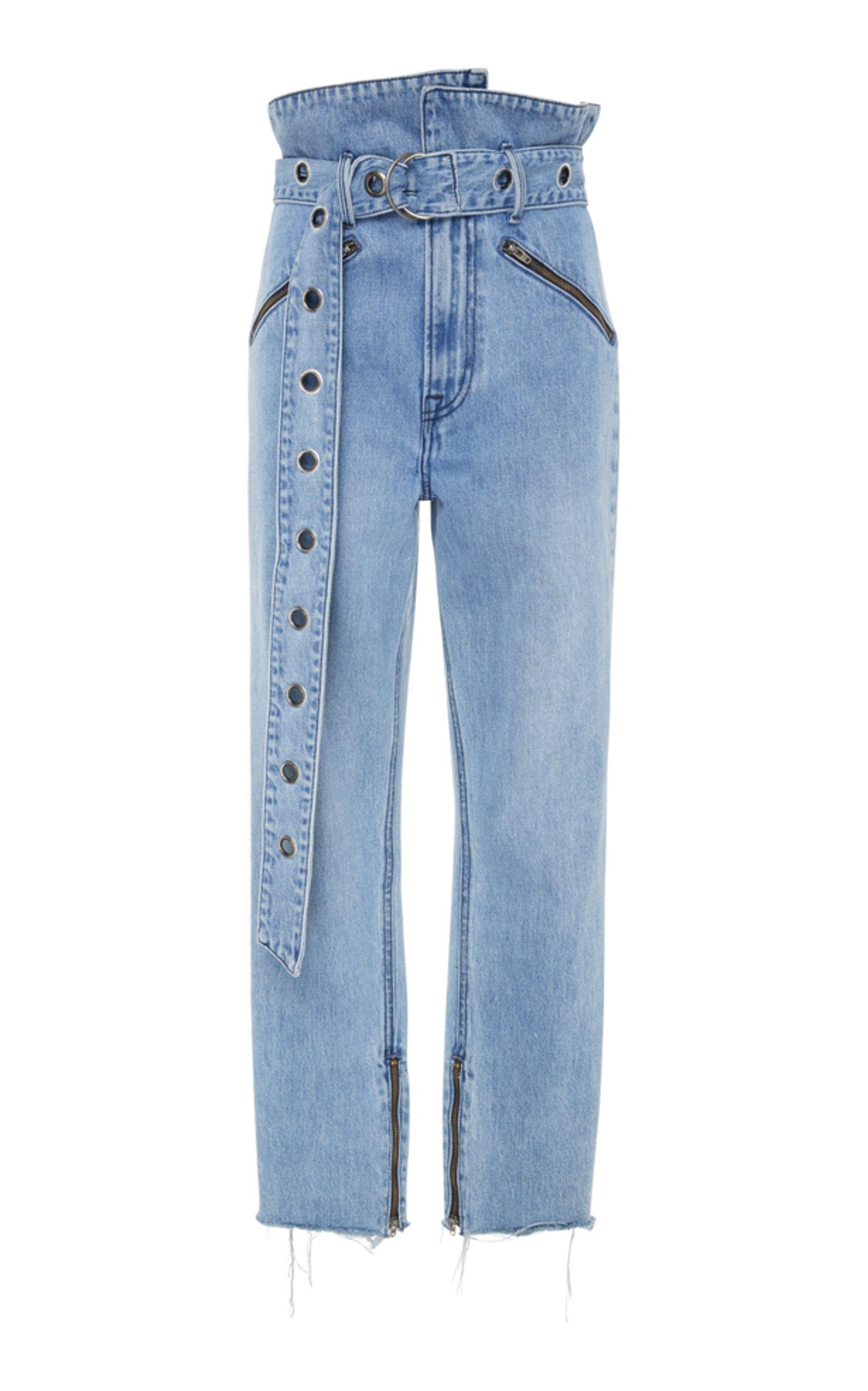 en Denim Operandi Grlfrnd de de de Moda Jeans recto corte rectos disponibles ahora Mia wqp8pOPf