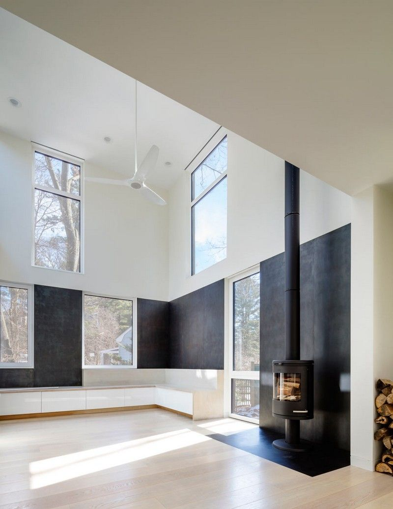 grow box steel house by merge architects interior design rh pinterest com