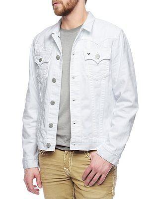 ef7ab0204cdfe Details about True Religion Men's Jimmy Super T Denim Jacket-Murky ...