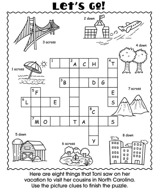 Welcome to Dover Publications Vacation Fun Activity Book – Fun Worksheets for Kids