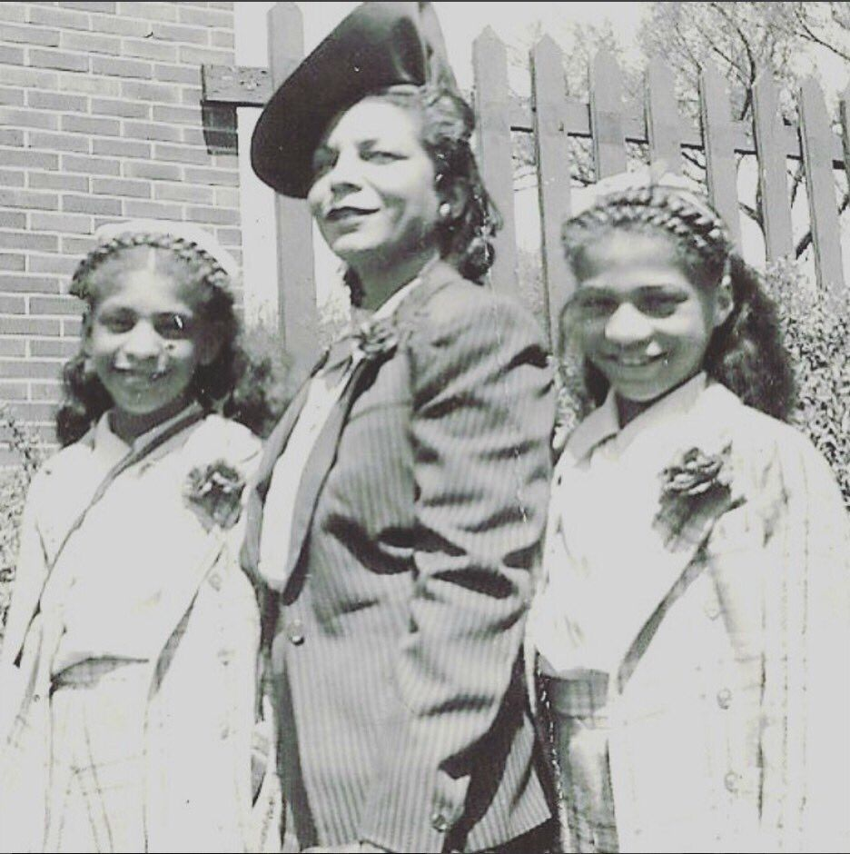 Mattie, Prince's mother, his grandmother, and his Aunt