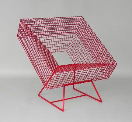 Cadre Grillage Rouge Mobilier Design Mobilier De Salon Mobilier