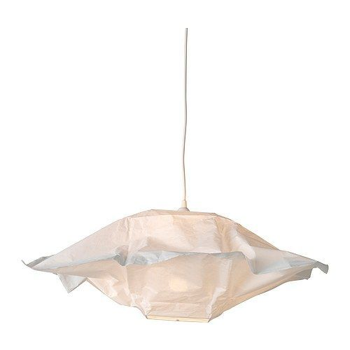 Varmluft shade ikea gives a soft glowing light that gives your new ikea varmluft modern ceiling pendant light square paper lamp shade mozeypictures Gallery