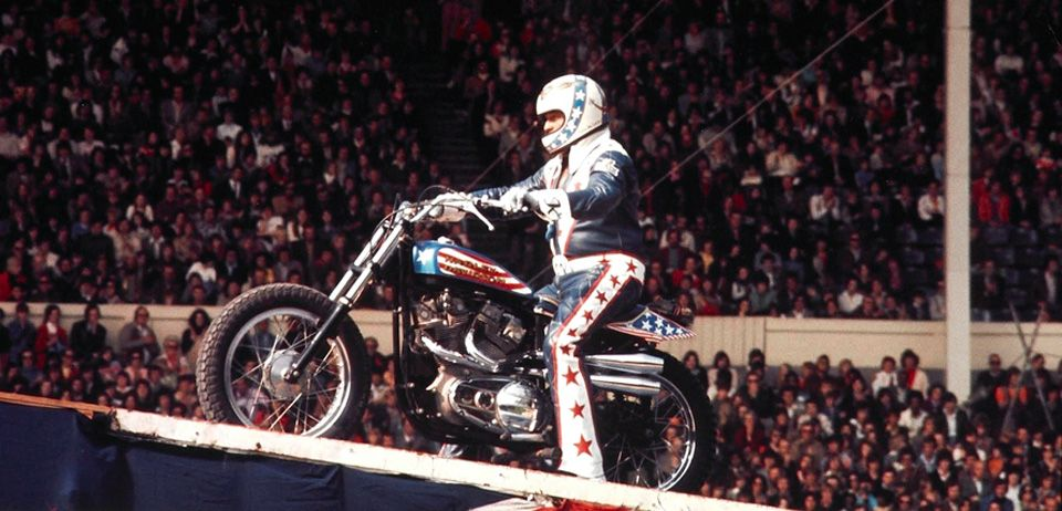 Evel Knievel Harley Davidson Chopper Photograph By Frank: Official Evel Knievel Website Featuring