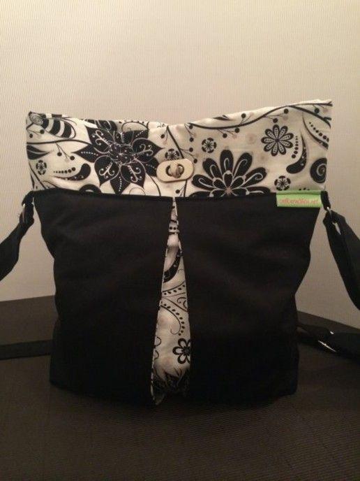 Tasche Mello – selbernähen.net | Nähen: Taschen | Pinterest | Sewing ...