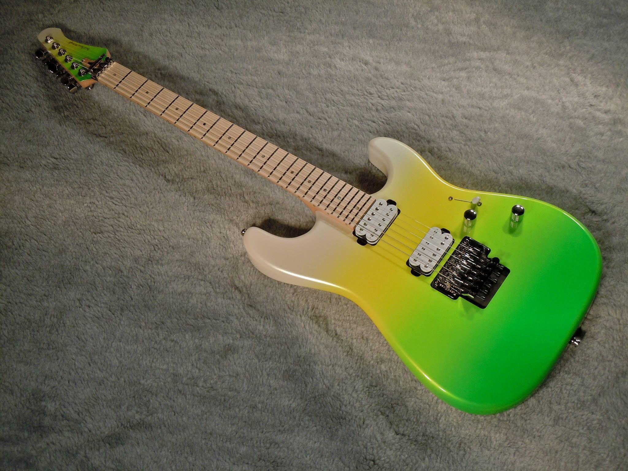 David Thomas McNaught Guitars DC+ in custom color