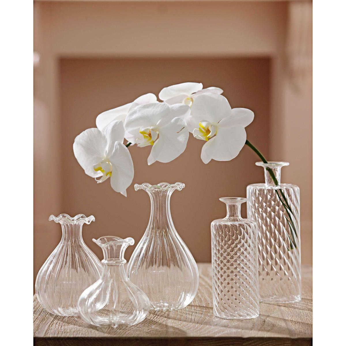 Melia Wave Glass Vase Large