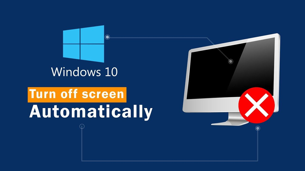 how to set your monitor screen turn off during not active ...