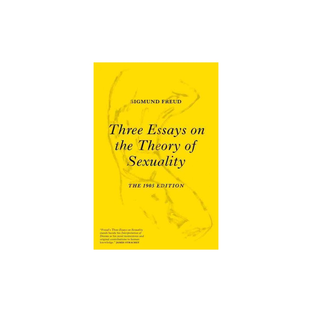 Three essays on the theory of sexuality 1905