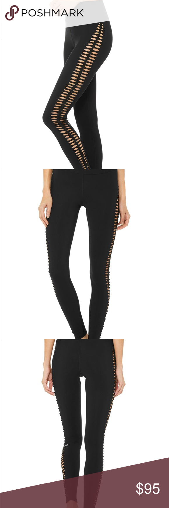 c1df71e749 ALO HIGH-WAIST REFORM LEGGING - Black [XS] These gorgeous leggings have been