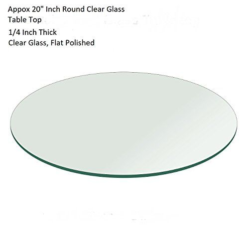 20 Or Few Cm Less Round Flat Polished Edge Gl Table Top 14 Thick