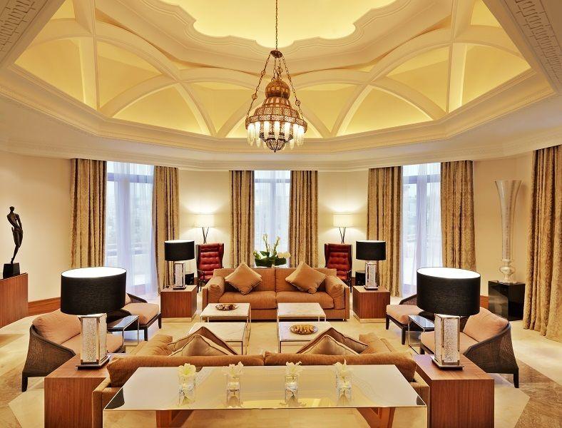The Grand Hyatt Amman Royal Suite Living Room Will Leave You Speechless Grand Hyatt Hotel Bedroom Decor