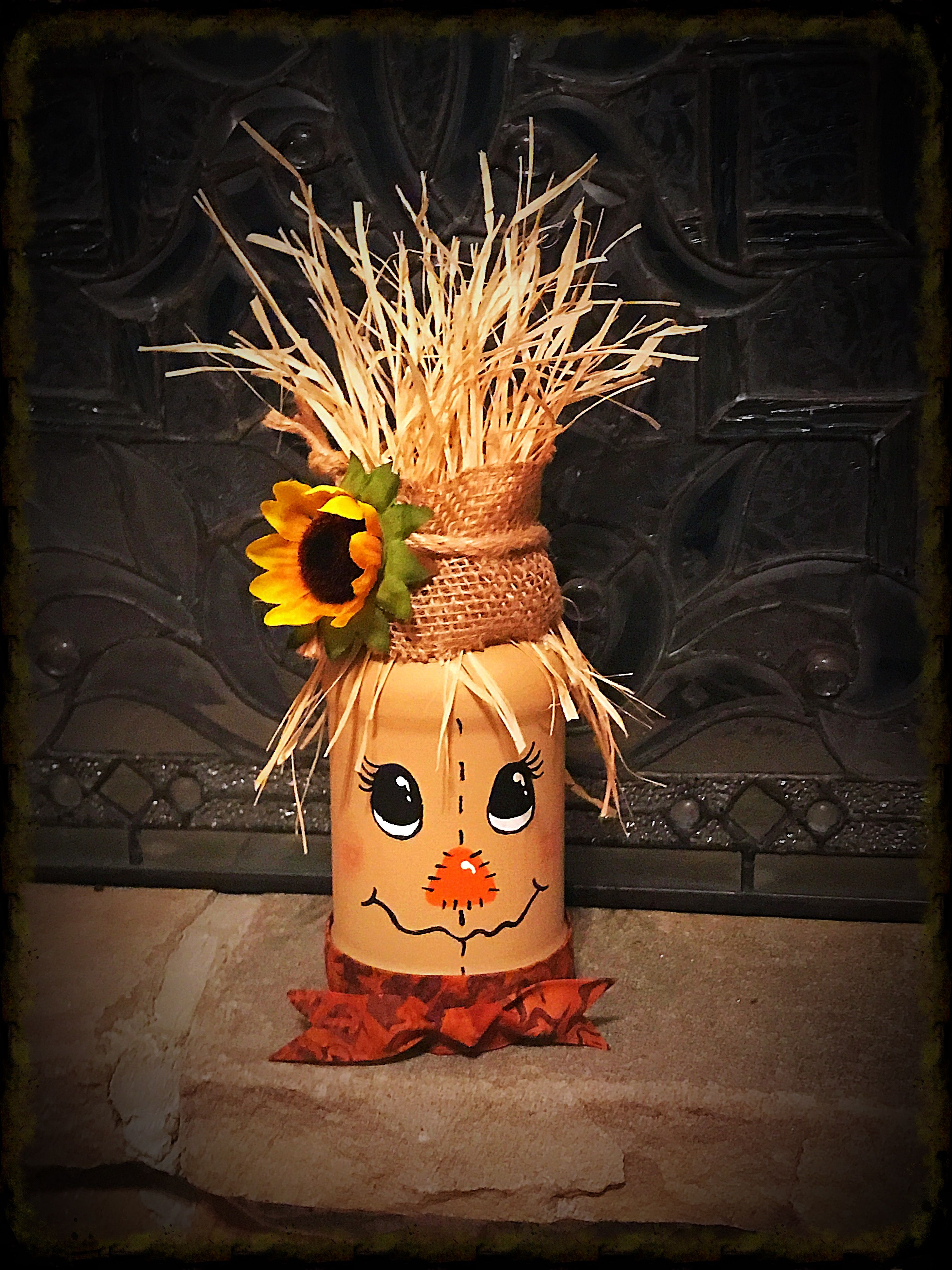 Cute Little Scarecrow For Fall Fun To Make