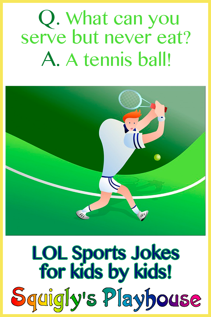 LOL funny sports jokes for kids by kids Riddles Jokes Knock
