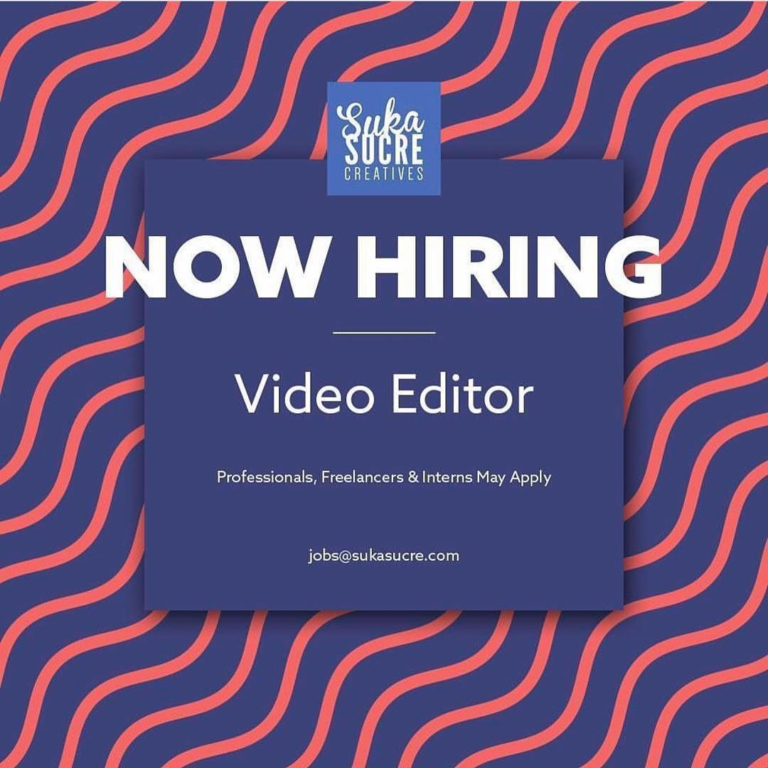 WeRe Looking For FullTime PartTime Video EditorS To Come Join