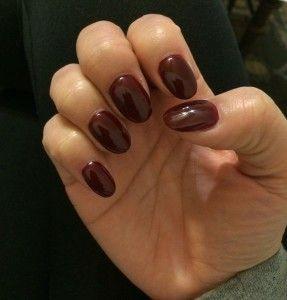 Rounded Acrylic Nails