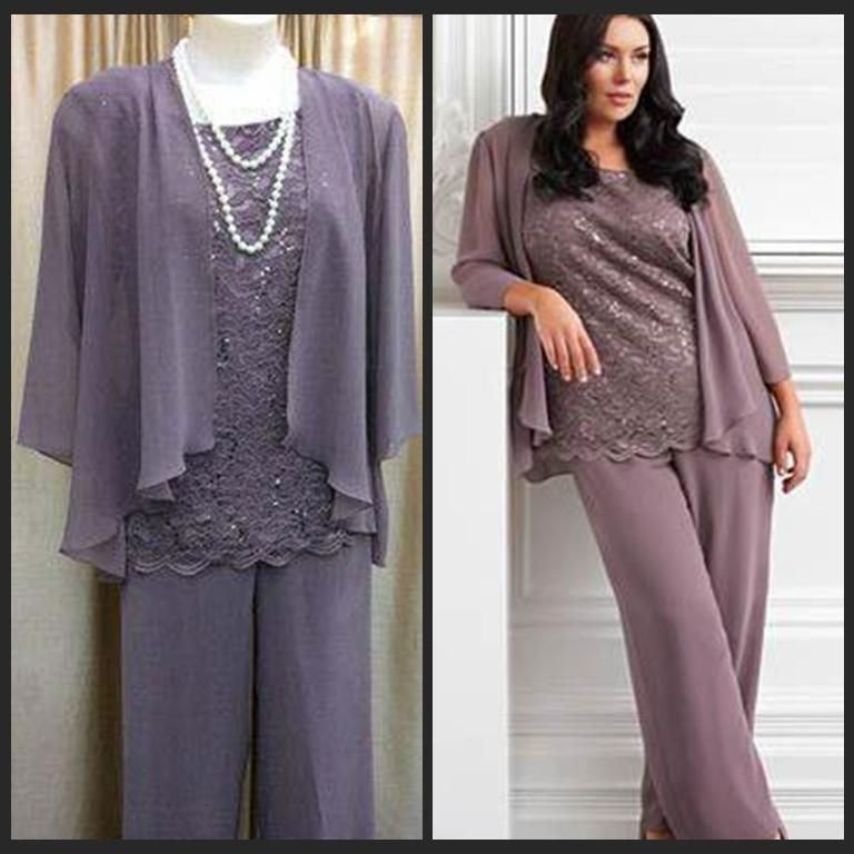 Plus size mother bride dresses 100 real sample new for Dress pant suits for weddings plus size