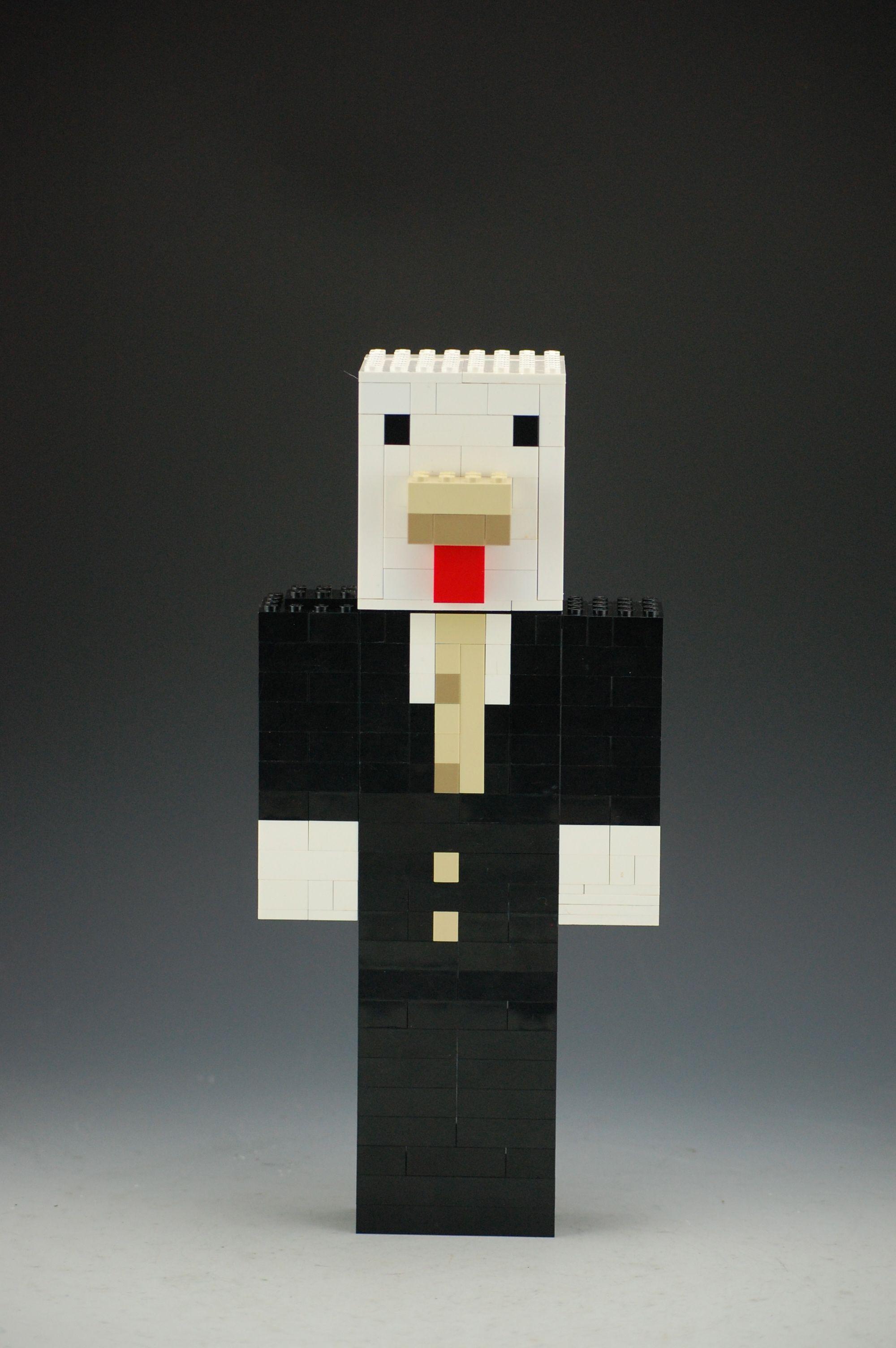 Custom Lego Minecraft Chicken Skin  Lego minecraft, Custom lego