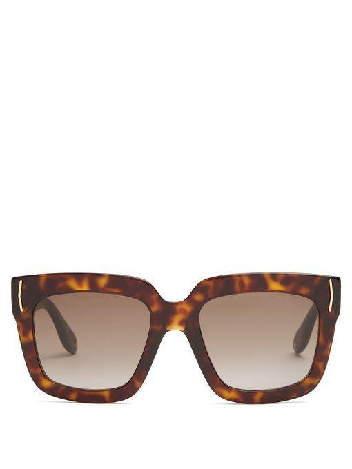 2813aa50289 Square-frame acetate sunglasses