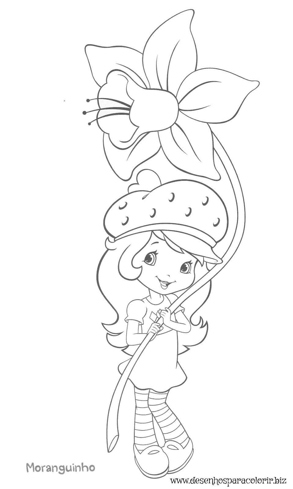 Moranguinho 13 Jpg 958 1600 Com Imagens Desenhos Infantis